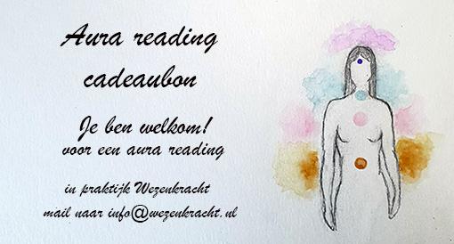 Aura reading kadobon.18cm
